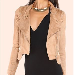 Shein Suede Jacket! Brand new never worn